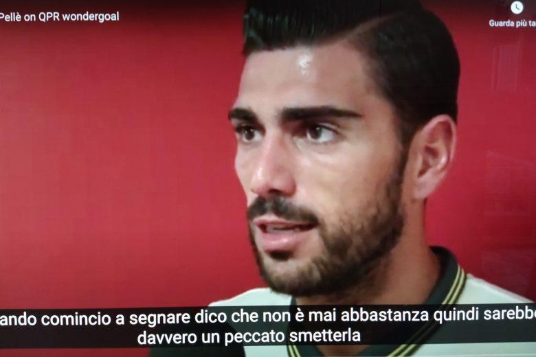 GRAZIANO E L'INTERVISTA DOPO IL GOAL