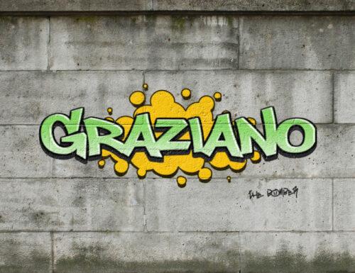GRAZIANO TESTO GRAFFITI