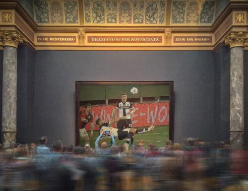 GRAZIANO E LA SUPER ROVESCIATA AL MUSEO DI RIJKSMUSEUM