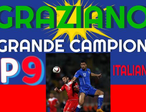GRAZIANO IL GRANDE CAMPIONE ITALIANO GP9
