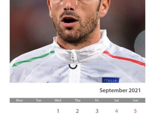 GRAZIANO CALENDARIO SETTEMBRE 2021