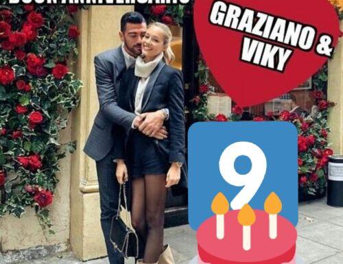AUGURISSIMI GRAZIANO & VIKY! 9° ANNIVERSARIO DI FIDANZAMENTO