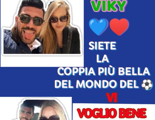 GRAZIANO & VIKY 💙♥️ : SIETE LA COPPIA PIÙ BELLA DEL MONDO DEL ⚽. VI VOGLIO BENE.