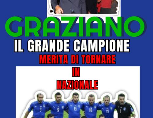 GP9 GRAZIANO IL GRANDE CAMPIONE MERITA DI TORNARE IN NAZIONALE