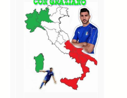 GRAZIANO L'ITALIA CON GRAZIANO L'ITALIA CHE VUOLE GRAZIANO IN NAZIONALE