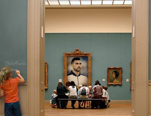 GRAZIANO E AL  MUSEO……