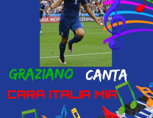 GRAZIANO CANTA CARA ITALIA 🇮🇹 MIA