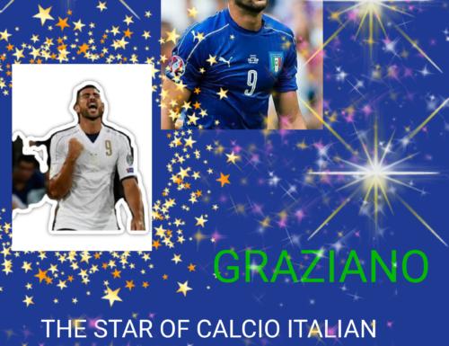 GRAZIANO THE STAR OF CALCIO ITALIAN GRANDE BOMBER