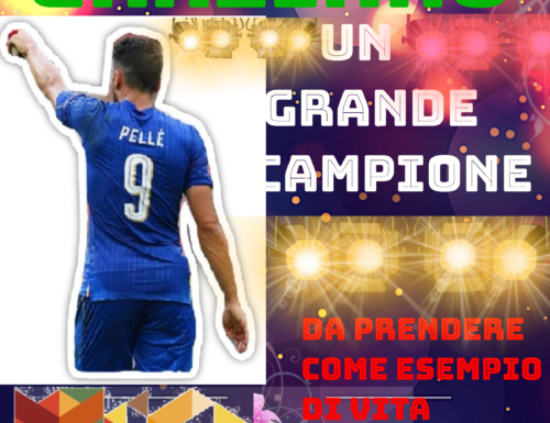 GRAZIANO UN GRANDE CAMPIONE DA PRENDERE COME ESEMPIO DI VITA